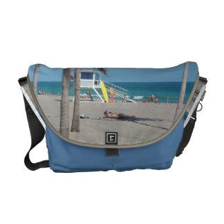 Ft Lauderdale Beach Lifeguard Stand Courier Bag