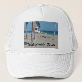 Ft Lauderdale Beach Lifeguard Stand Trucker Hat