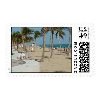 Ft Lauderdale Beach Postage