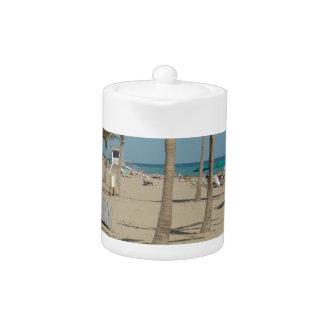 Ft Lauderdale Beach Teapot