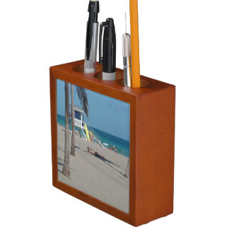 Ft Lauderdale Florida Lifeguard Stand Desk Organizer