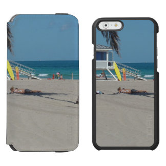 Ft Lauderdale Florida Lifeguard Stand iPhone 6/6s Wallet Case