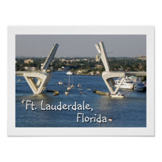 Ft Lauderdale, Florida Poster