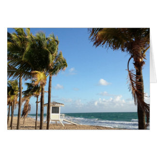 Ft. Lauderdale Lifeguard Stand Card