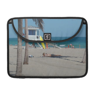 Ft Lauderdale Lifeguard Stand Sleeve For MacBook Pro
