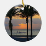 Ft. Lauderdale Sunrise Ornaments