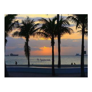 Ft. Lauderdale Sunrise Postcard
