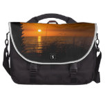 Ft Meyers Beach at Sunset Laptop Computer Bag