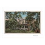 Ft. Myers, Florida - View of Thomas Edison House Postcard