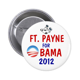 Ft. Payne for Obama Pinback Button