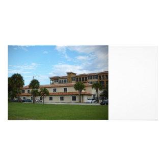 Ft Pierce Florida Library Customized Photo Card