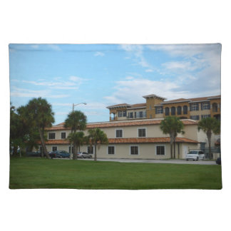 Ft Pierce Florida Library Placemat