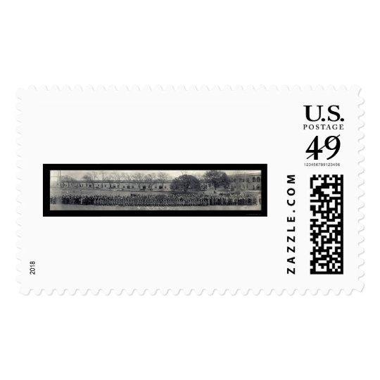 Ft Sam Houston Officer Photo 1919 Stamp