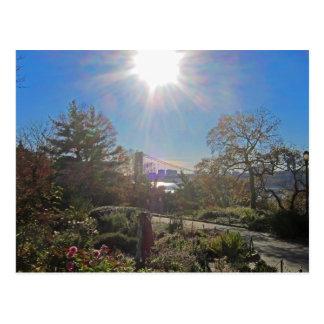 Ft. Tryon Park Sun Postcard