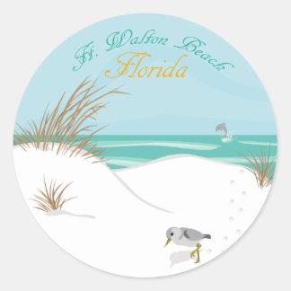 Ft. Walton Beach (Florida) Classic Round Sticker