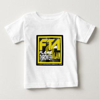 FTA Flame Thrower Alan Music Apparel & Merchandise Baby T-Shirt