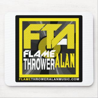 FTA Flame Thrower Alan Music Apparel & Merchandise Mousepad