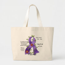 FTD/ALS Find a Cure Tote Bag
