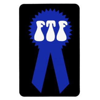 ¡FTF Blue Ribbon! Iman De Vinilo