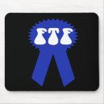 ¡FTF Blue Ribbon! Tapetes De Ratón