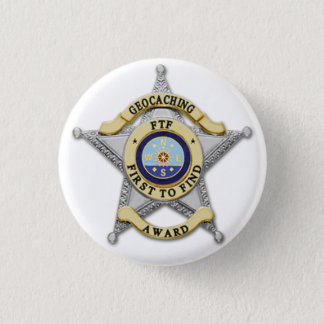 "FTF - ""First to Find"" Award Badge Button"