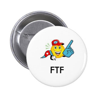 FTF - First to Find Geocaching Swag Pin
