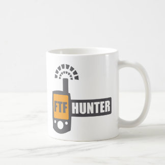 FTF Hunter Classic White Coffee Mug