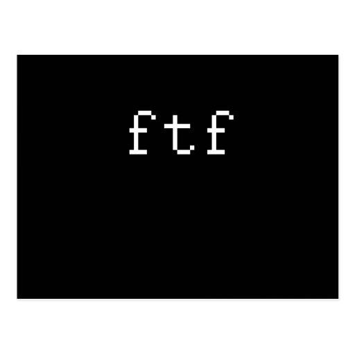 FTF POSTAL