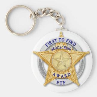 FTF - Primero para encontrar el premio Llavero Redondo Tipo Pin