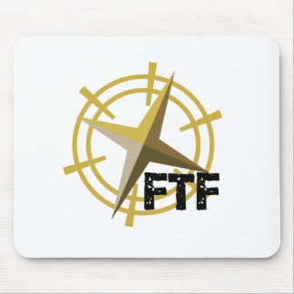 FTF with compass Mouse Pad