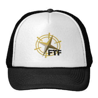 FTF with compass Trucker Hat