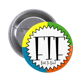 FTF with four colors Pinback Button