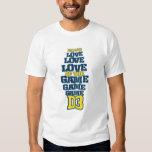 FTL (Navy & Yellow) Tee Shirts