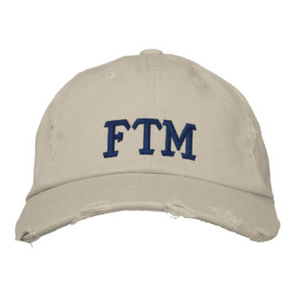 FTM EMBROIDERED BASEBALL CAP