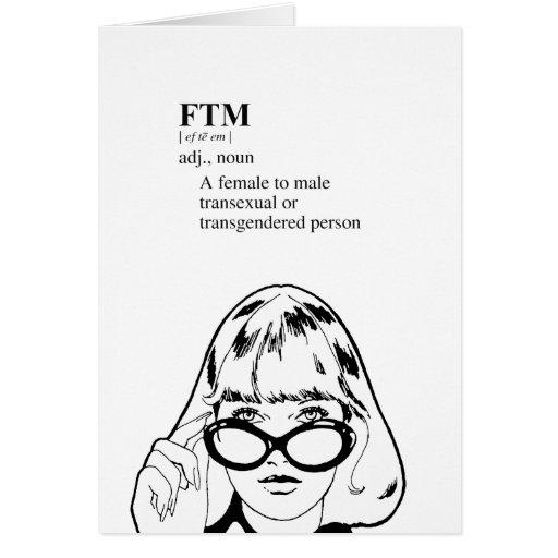 FTM GREETING CARD