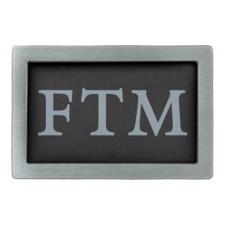 FTM Pride Belt Buckle