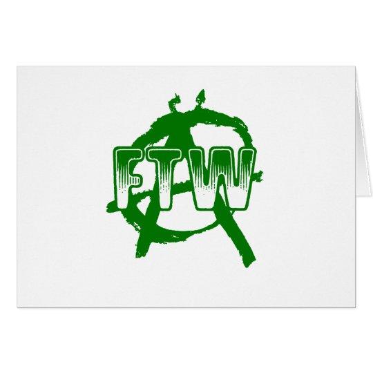 FTW - Anarchy Card
