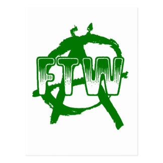 FTW - Anarchy Postcard