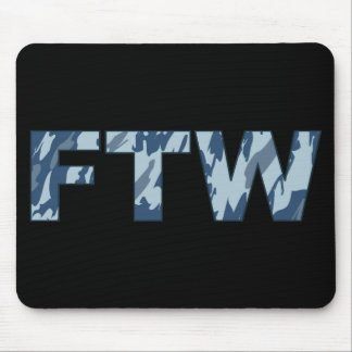 FTW Camo ártico Mousepad