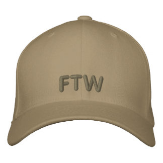 FTW EMBROIDERED BASEBALL CAP