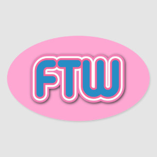 FTW Girl Gamer Stickers