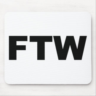 FTW MOUSE PAD