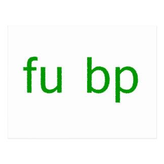 fu bp postcard