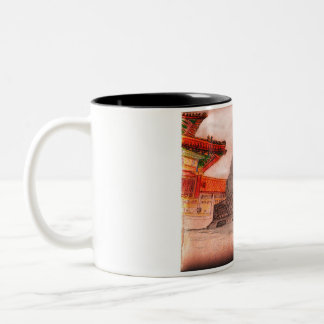 Fu Dog Two-Tone Coffee Mug