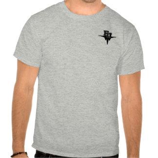 FU Eagle de alta tecnología - de color claro Camisetas