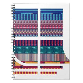 Fu gráfico de la ciencia NVN690 del átomo del mode Libros De Apuntes Con Espiral