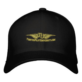 FU Hat with Call Sign on the Back Embroidered Hat