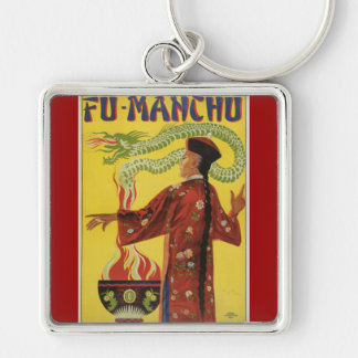 Fu-Manchu Magician Advertisement Key Chains