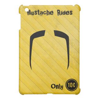 Fu Manchu Mustache iPad Mini Covers