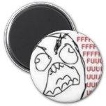 FU Rage Comic Magnet